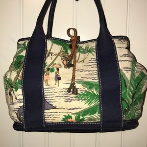 J. Crew Shopper Tote Carryall Bag